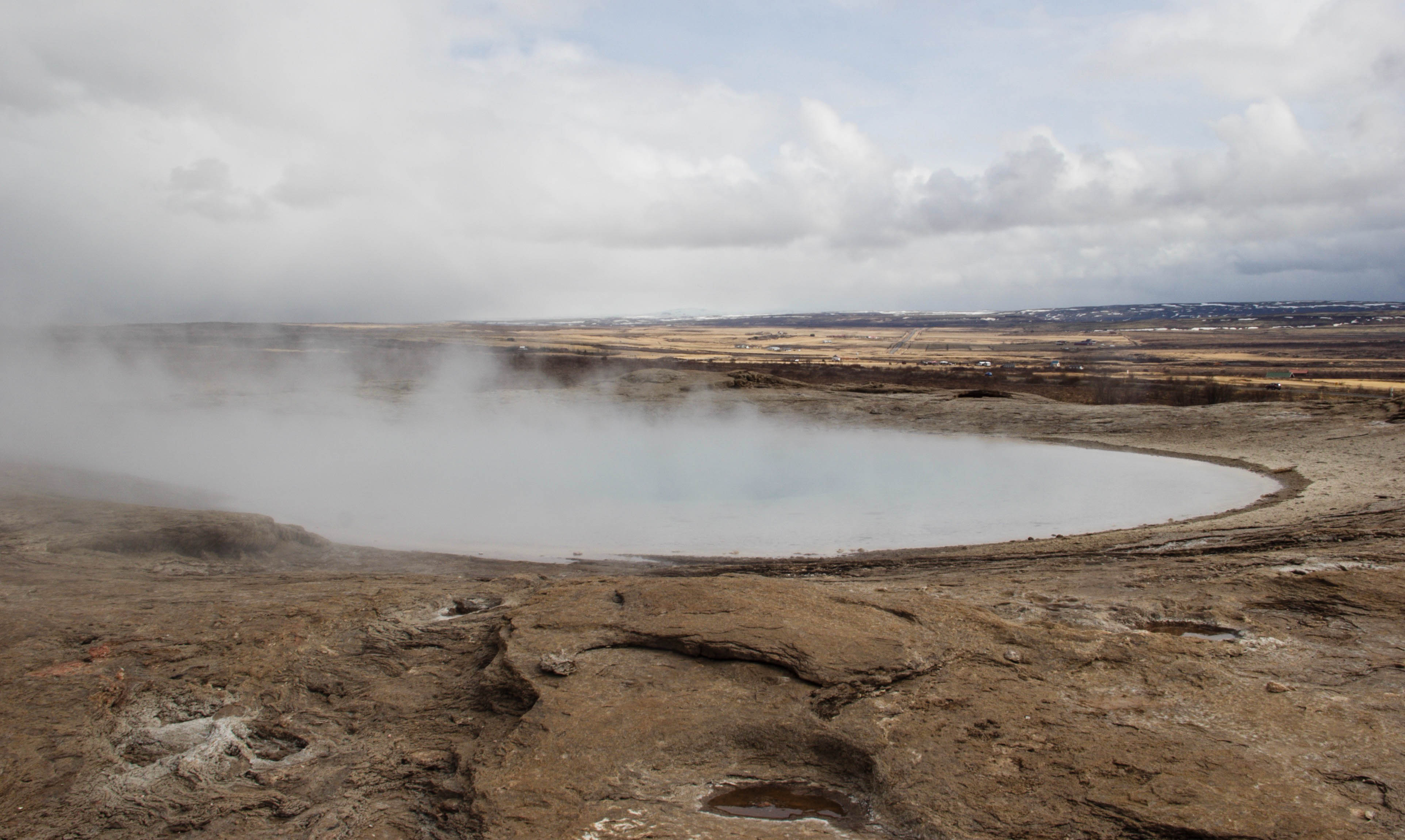 Hot Springs and Erupting Geysers in the Land of the Boiling Waters