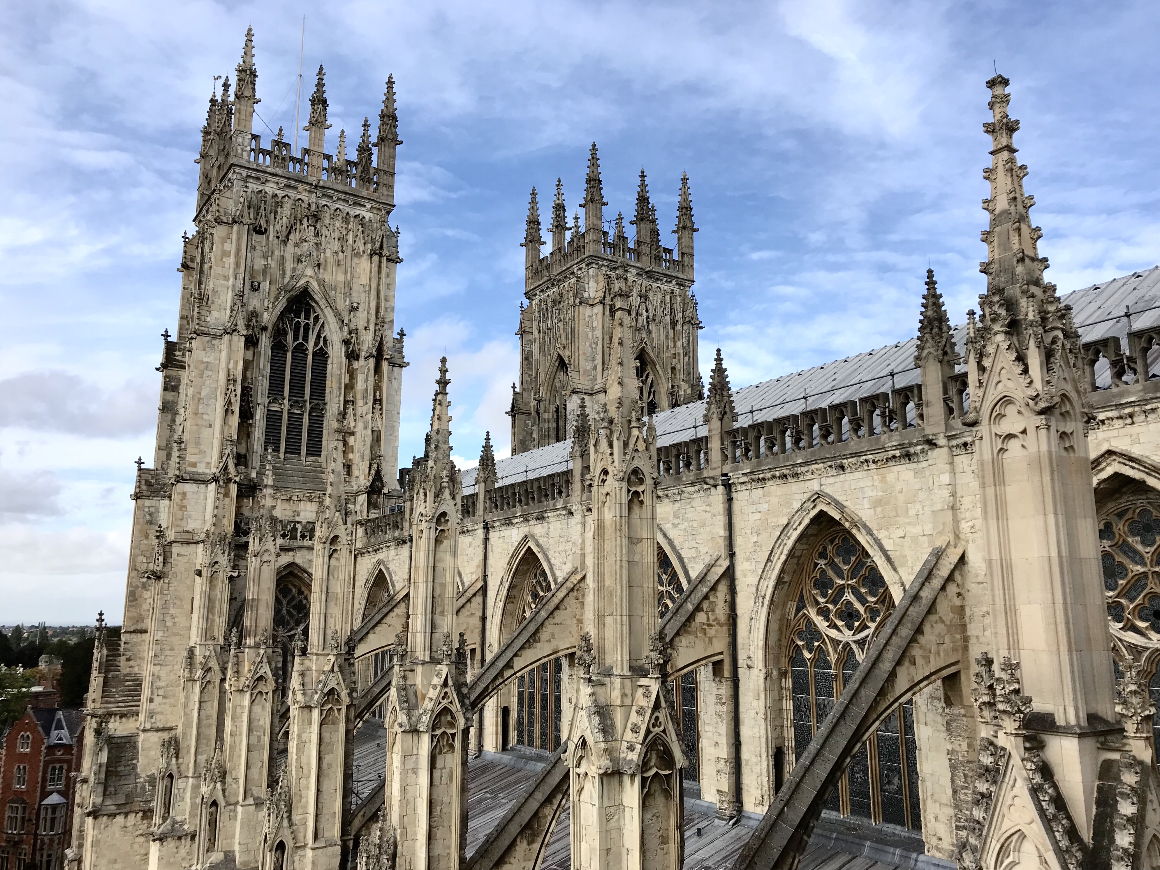 York Minster, the largest medieval Gothic cathedral in