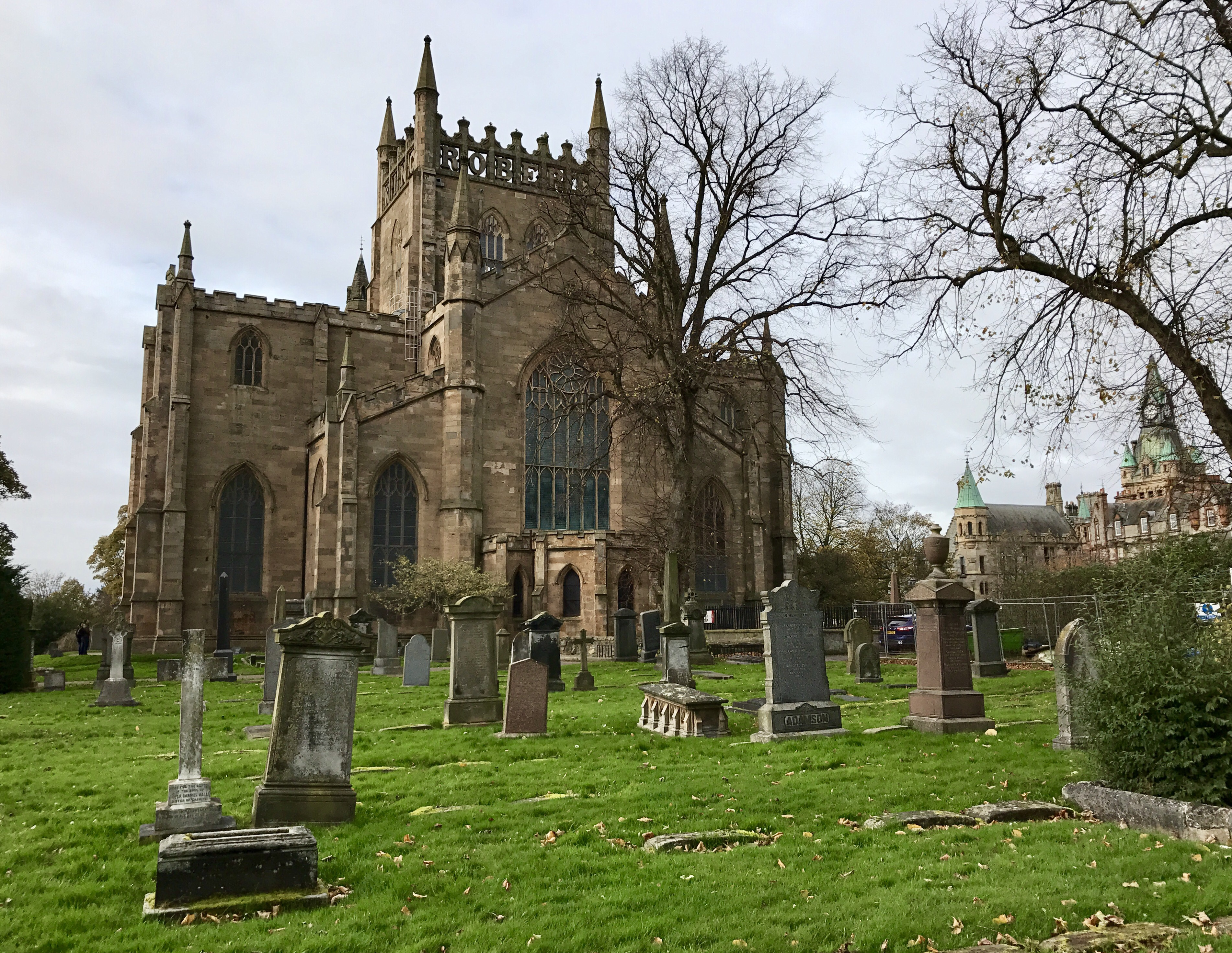 Dunfermline Abbey and Palace, once Scotland's most powerful ...